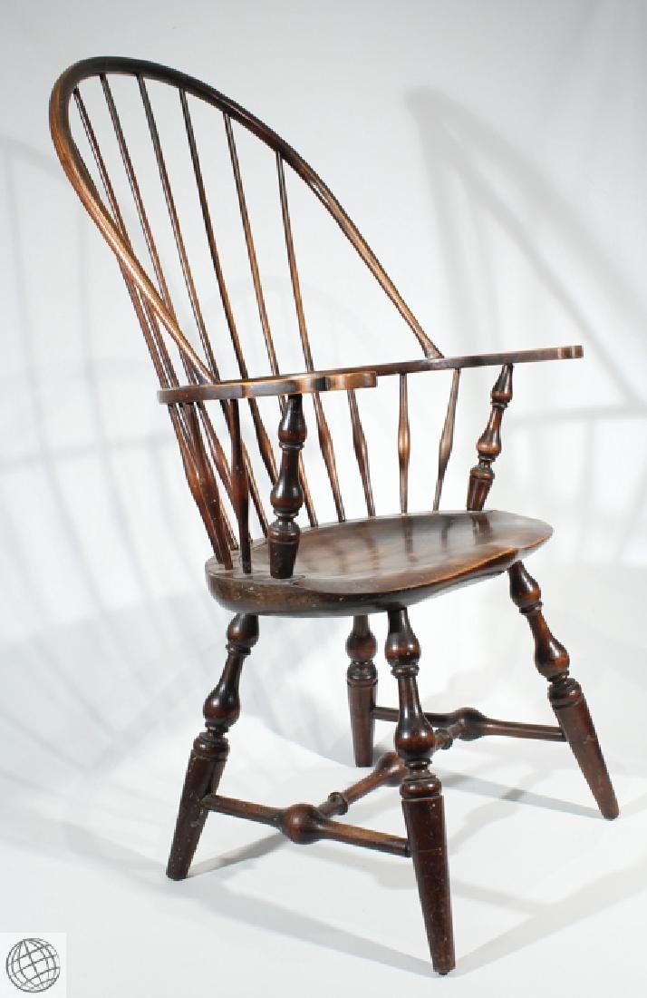 Vintage SACK BACK WINDSOR STYLE ARMCHAIR  Furniture New - 2