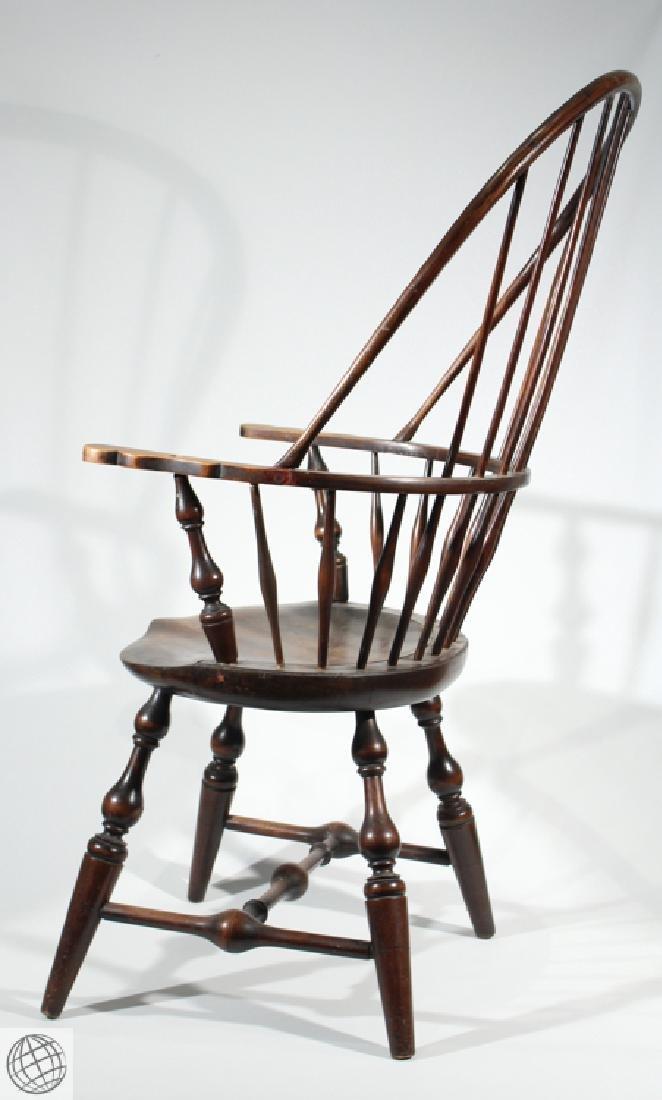 Vintage SACK BACK WINDSOR STYLE ARMCHAIR  Furniture New - 4