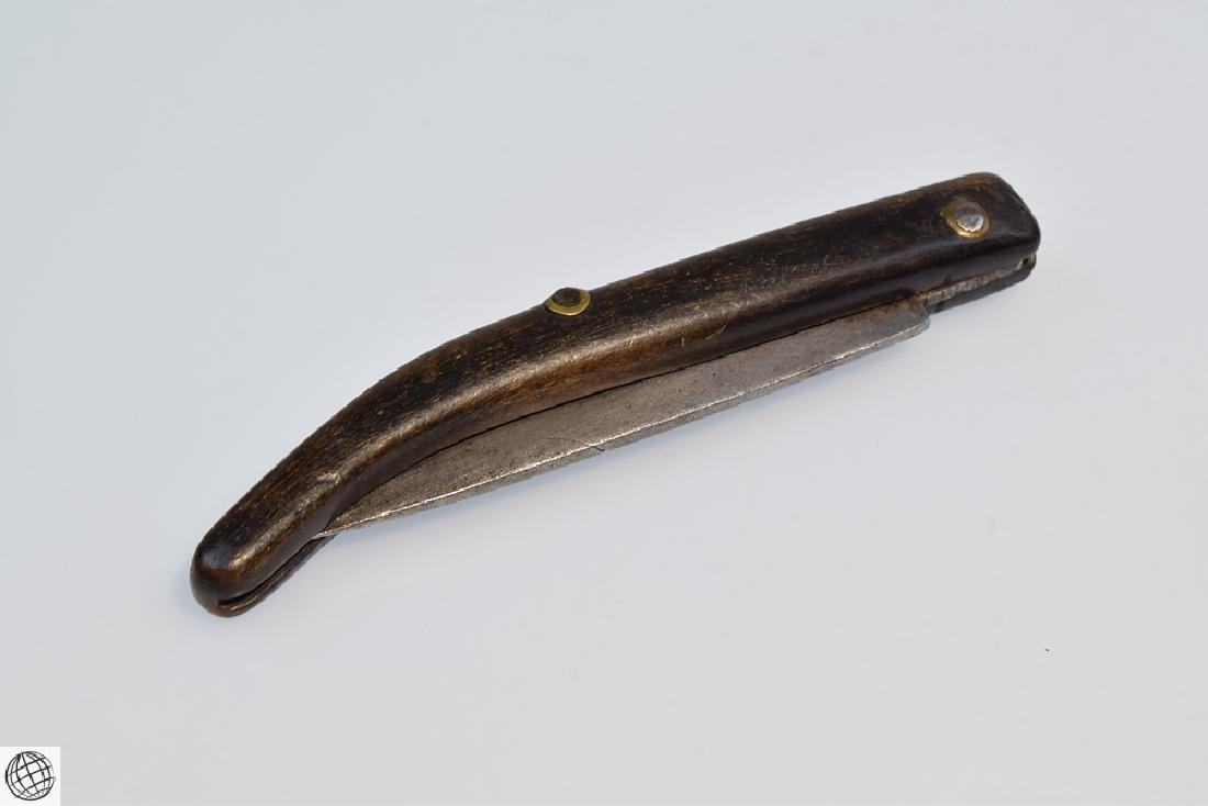 Antique NAVAJA STYLE FOLDING KNIFE 3 Inch Blade