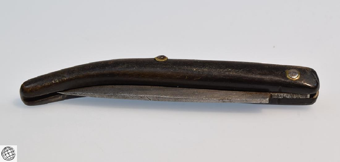 Antique NAVAJA STYLE FOLDING KNIFE 3 Inch Blade - 7
