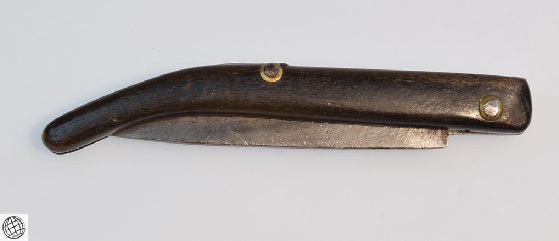 Antique NAVAJA STYLE FOLDING KNIFE 3 Inch Blade - 8