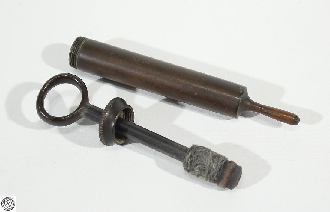 5Pcs Civil War Era ANTIQUE MEDICAL TOOLS 1900s Trocar - 4