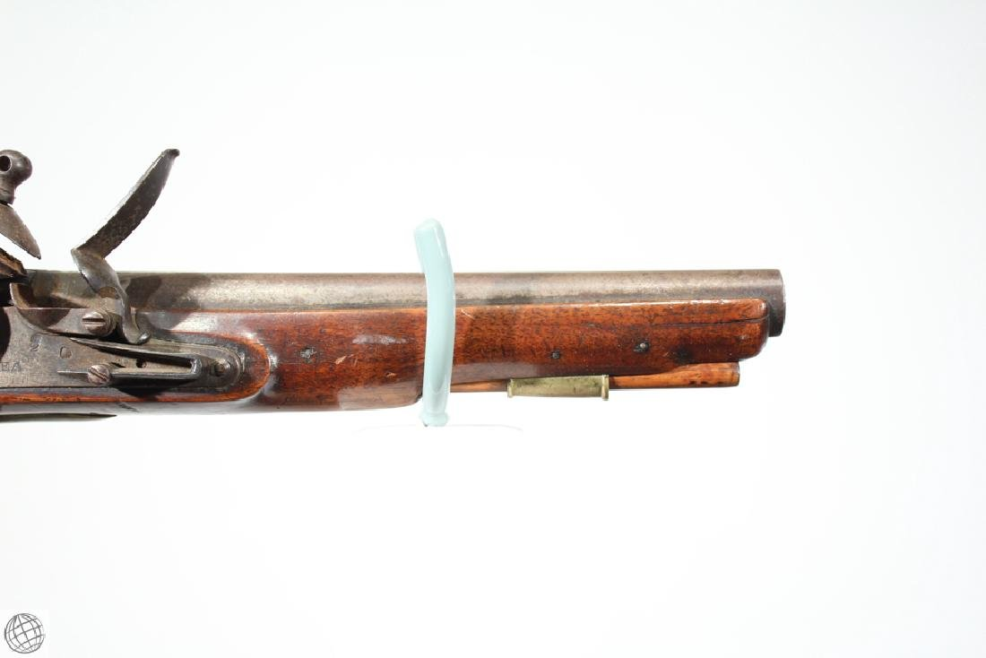 "East India Company FLINTLOCK PISTOL Rea Marked 1802 9"" - 3"