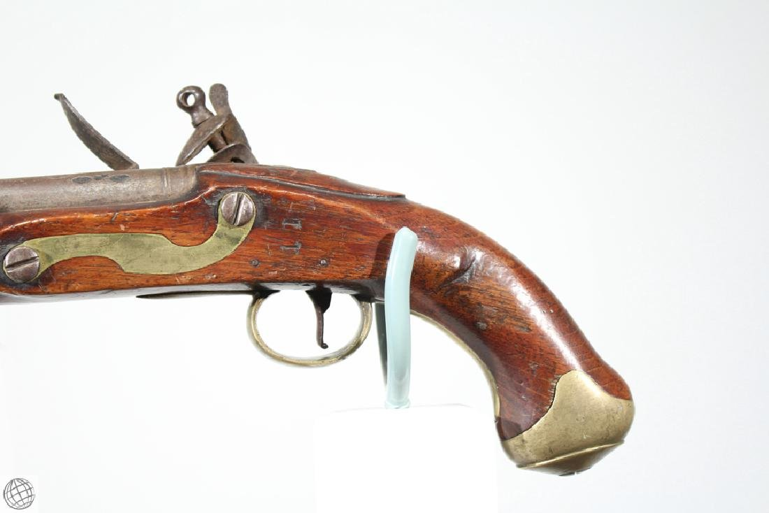 "East India Company FLINTLOCK PISTOL Rea Marked 1802 9"" - 5"