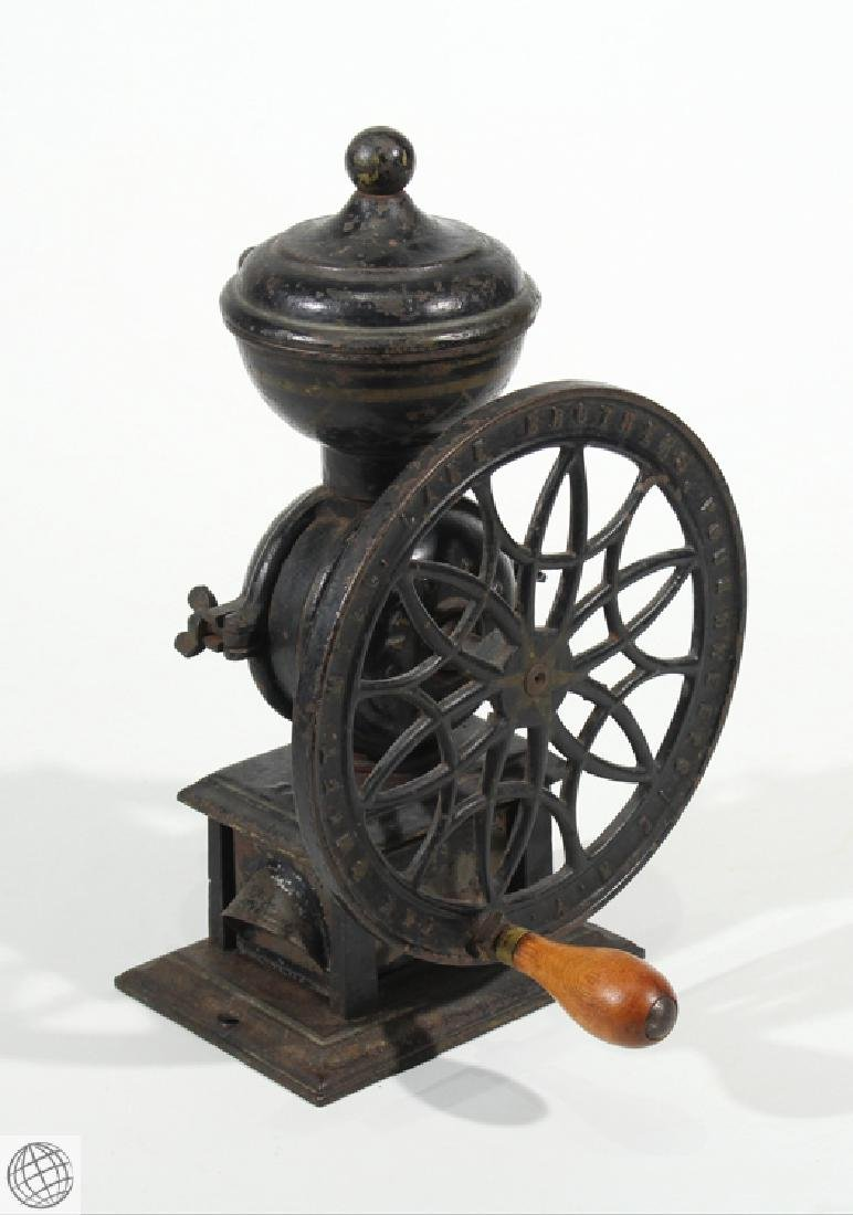 1875 Antique LANE BROTHERS SWIFT MILL COFFEE GRINDER