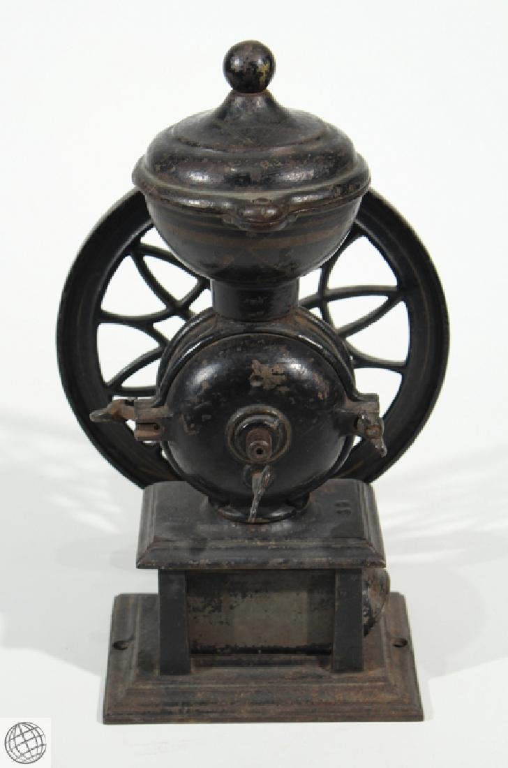 1875 Antique LANE BROTHERS SWIFT MILL COFFEE GRINDER - 5