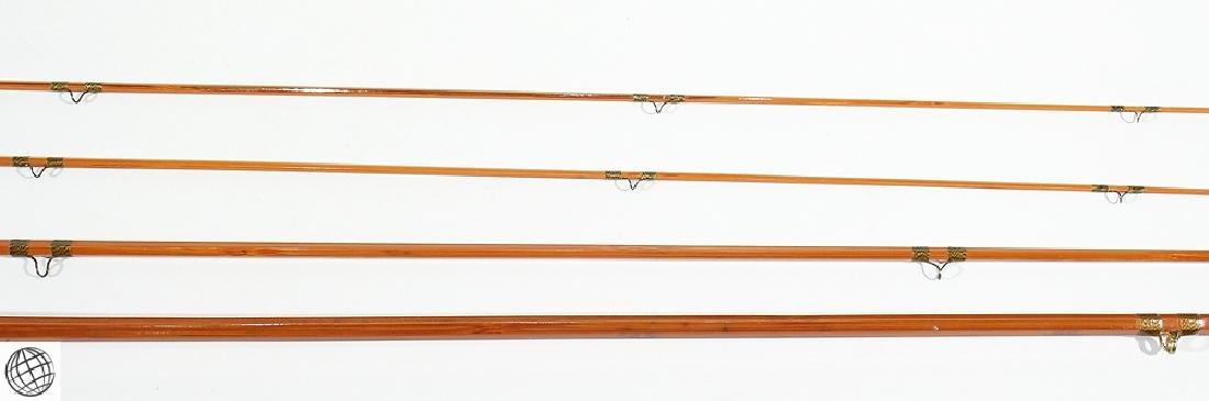 Fly Fishing VINTAGE HEDDON SPLIT BAMBOO FLY ROD Circa - 3