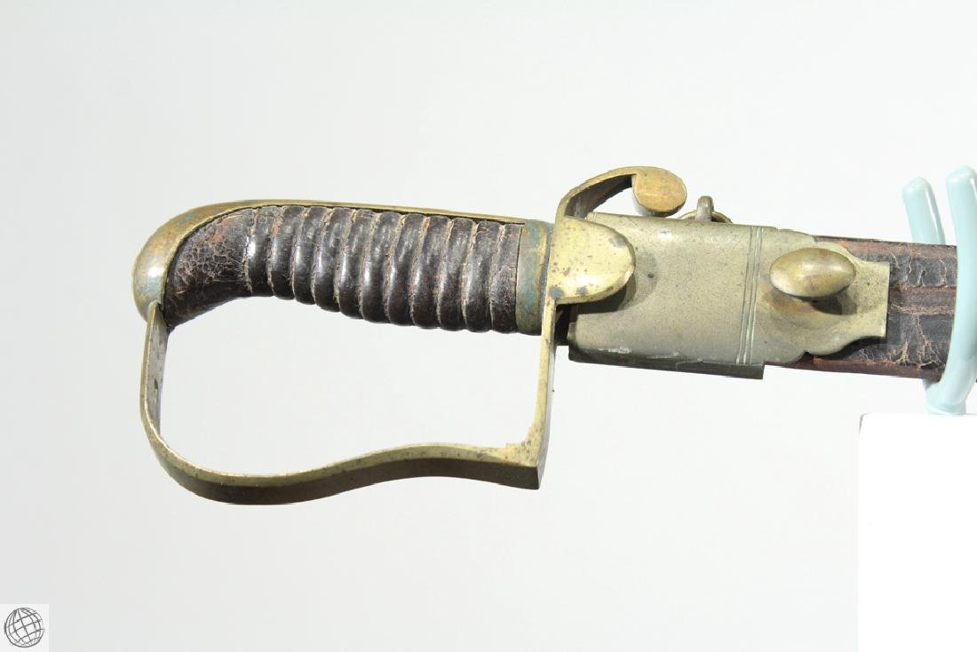 US MILITIA SWORD British Export Brass Hilt Mounted - 2