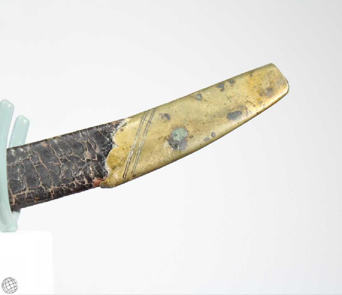 US MILITIA SWORD British Export Brass Hilt Mounted - 4