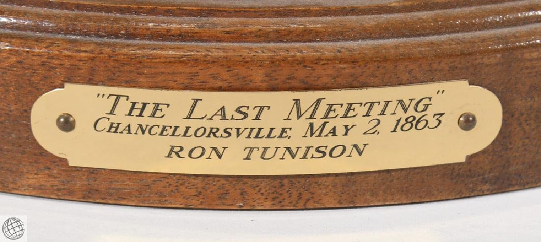 The Last Meeting HISTORICAL SCULPTURE BY RON TUNISON - 3