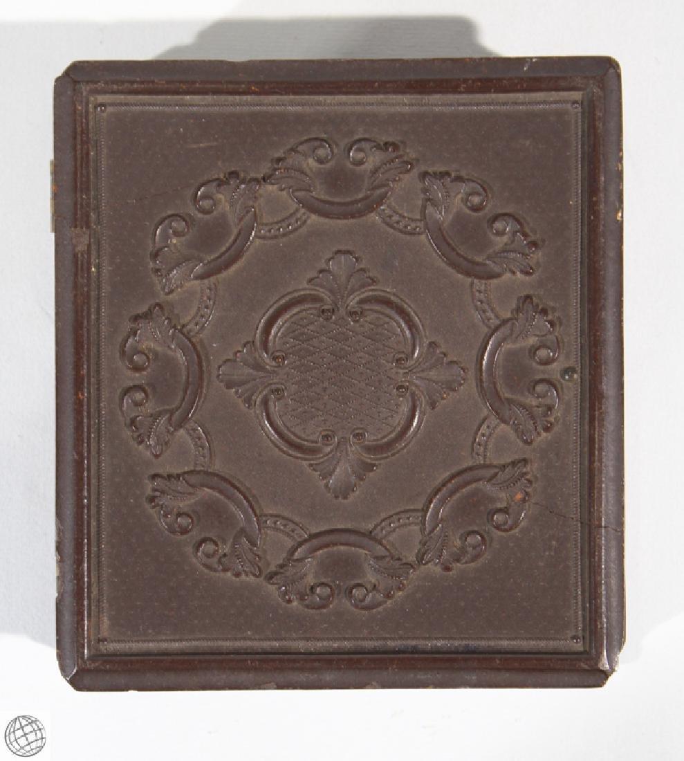 4Pcs. Antique 19th Century THERMOPLASTIC UNION CASES - 7