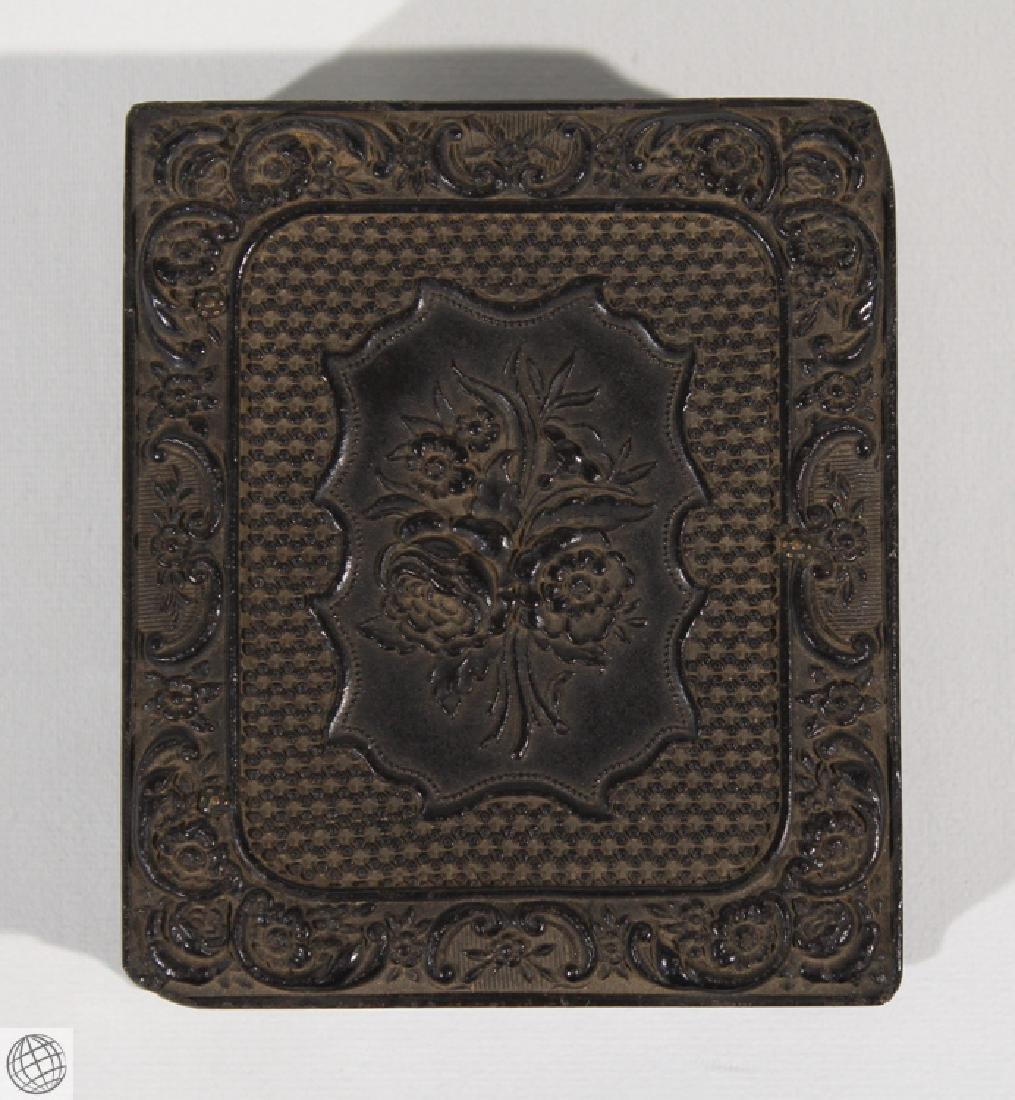 5Pcs Antique 19th Century THERMOPLASTIC UNION CASES - 3