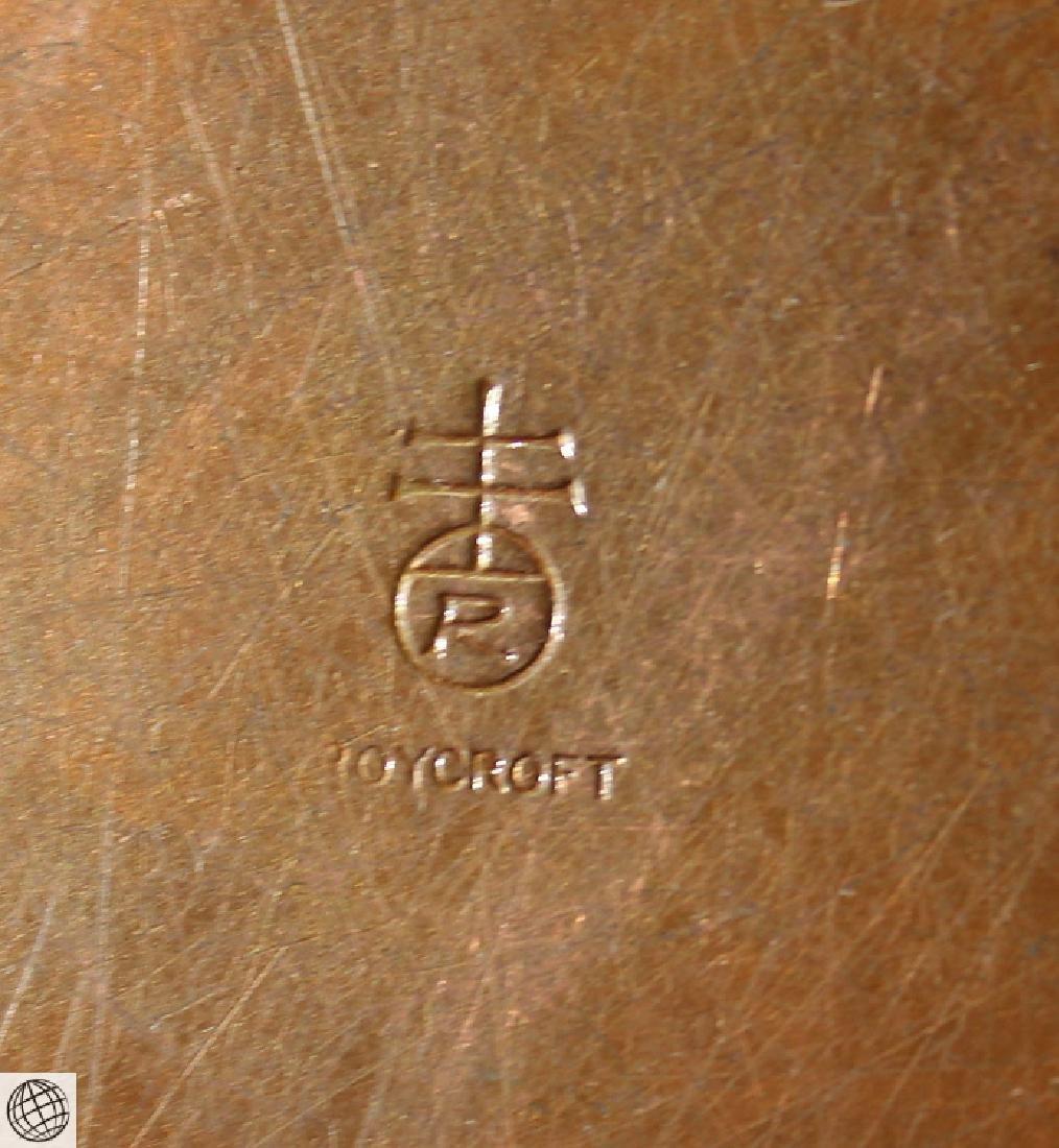 7Pcs Antique Collectible ROYCROFT ASHTRAYS CANDLESTICKS - 6