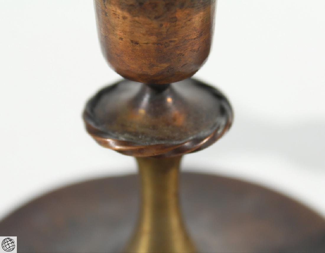 7Pcs Antique Collectible ROYCROFT ASHTRAYS CANDLESTICKS - 5