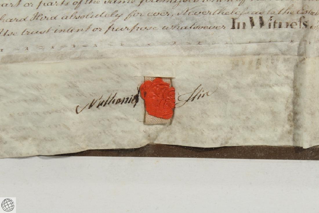 Hand Calligraphed VELLUM INDENTURE 1777 George III - 8