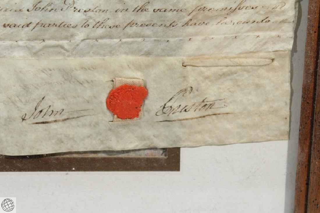 Hand Calligraphed VELLUM INDENTURE 1777 George III - 9