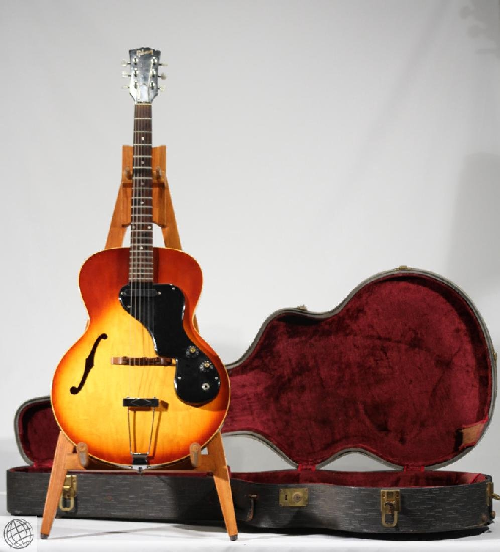 Vintage Archtop Electric Guitar GIBSON ES-120T C1965