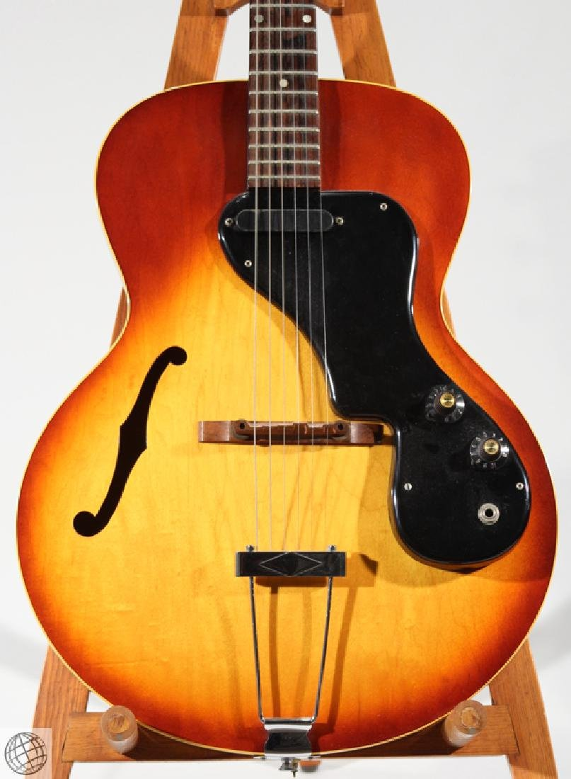 Vintage Archtop Electric Guitar GIBSON ES-120T C1965 - 3