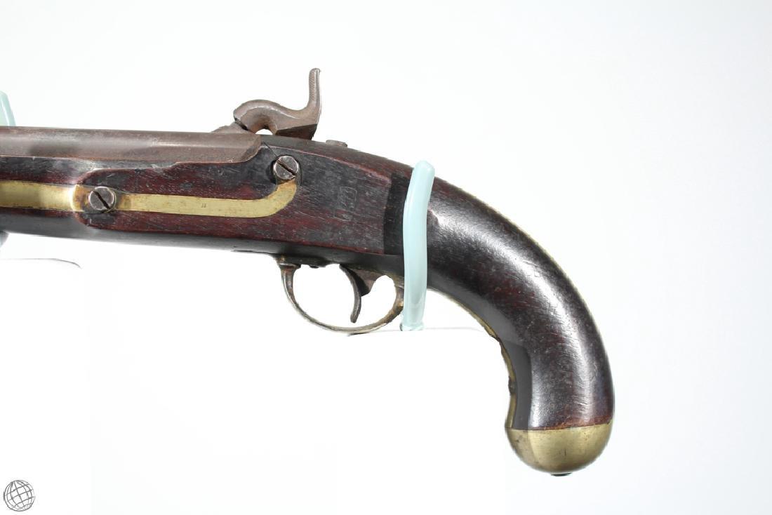 US Model 1842 ASTON PISTOL Percussion Inspector Marked - 5