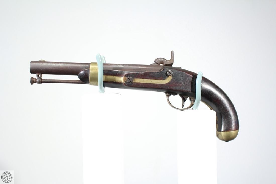 US Model 1842 ASTON PISTOL Percussion Inspector Marked - 6
