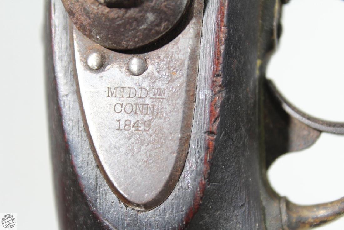 US Model 1842 ASTON PISTOL Percussion Inspector Marked - 7