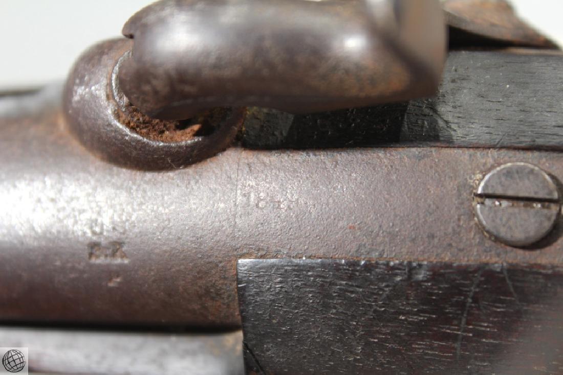 US Model 1842 ASTON PISTOL Percussion Inspector Marked - 9
