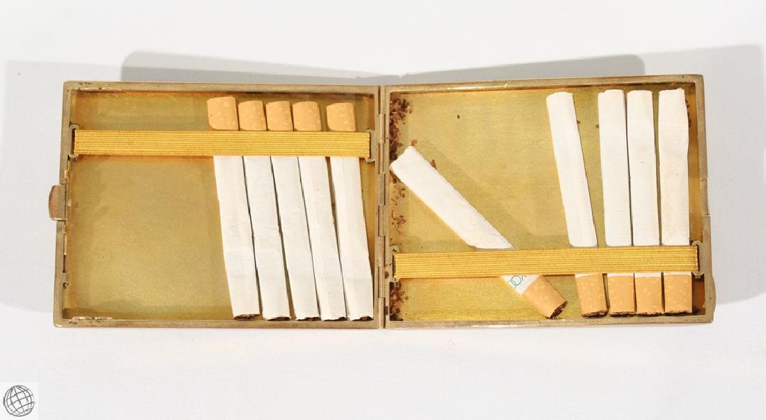 6Pcs Decorative VINTAGE CIGARETTE AND CIGAR CASES Burl - 6