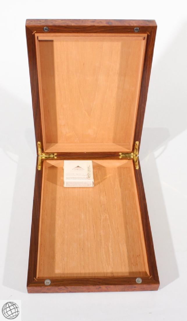 6Pcs Decorative VINTAGE CIGARETTE AND CIGAR CASES Burl - 2
