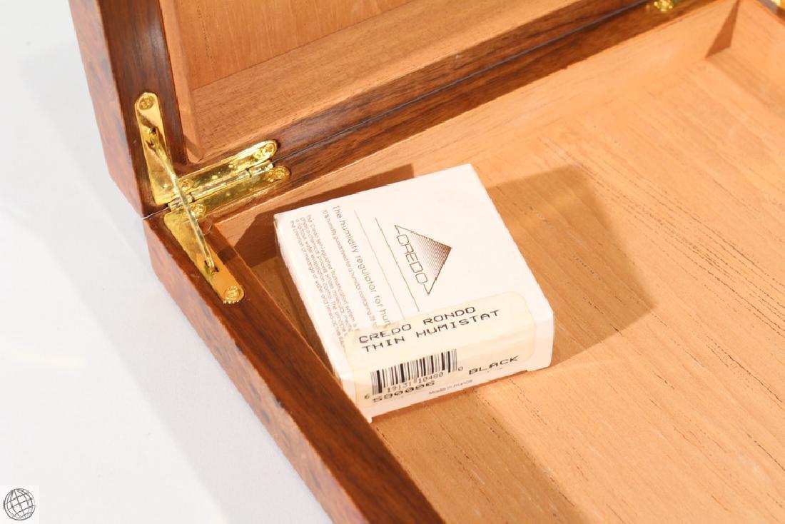 6Pcs Decorative VINTAGE CIGARETTE AND CIGAR CASES Burl - 3
