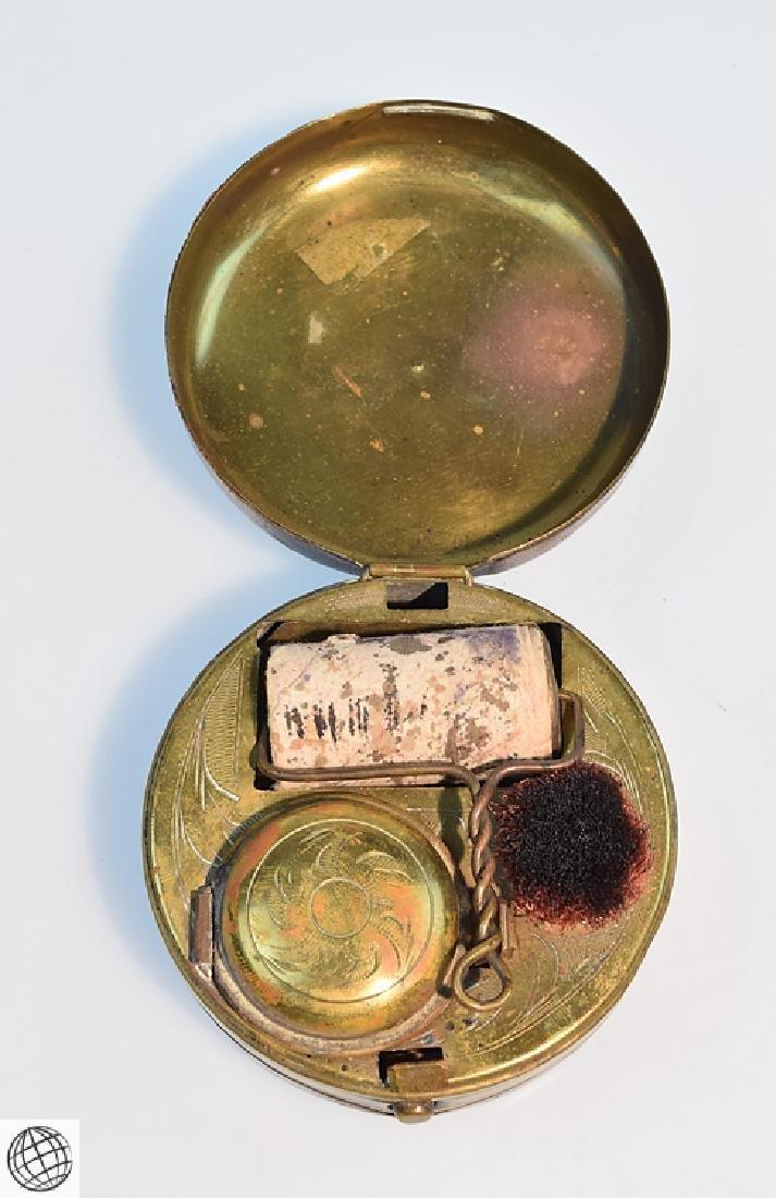 5Pcs Antique Travel Correspondence BONE AGENDA NOTEBOOK - 9