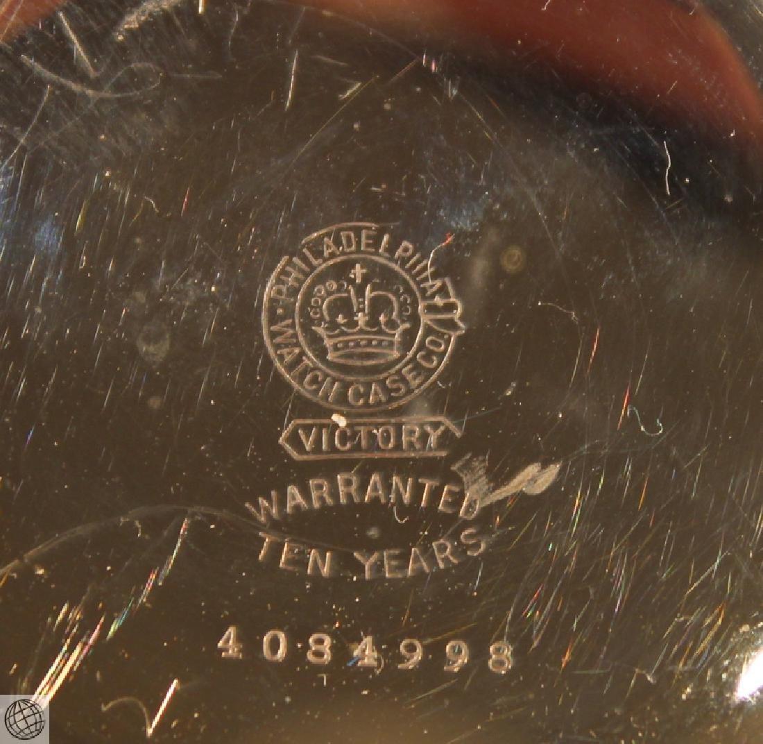 Antique 1887 ELGIN POCKET WATCH FOLDING KNIFE Fob - 6