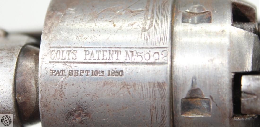 Colt Model 1860 ARMY Inspector Marked New York Address - 7