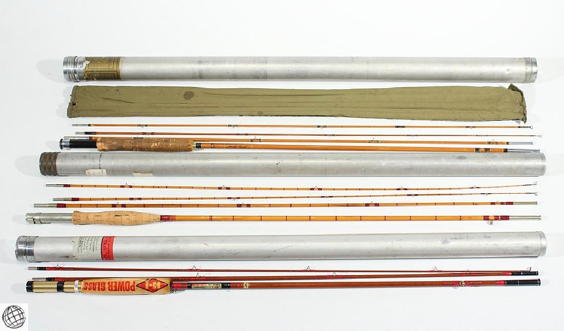 3Pcs. 1900S VINTAGE FLY FISHING RODS Split Bamboo Early