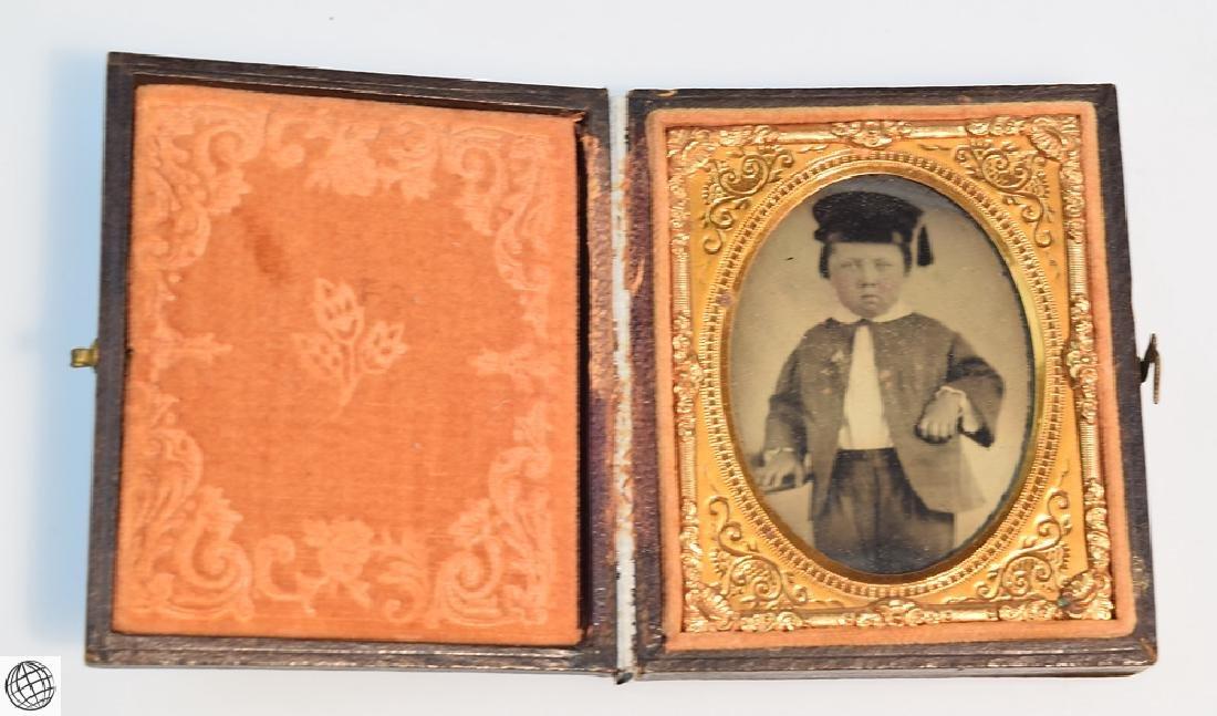 5Pcs Antique 19th Century UNION CASES WITH IMAGE Civil - 2
