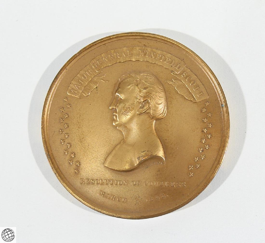3Pcs Numismatics HISTORICAL MEDALLIONS Major General - 2