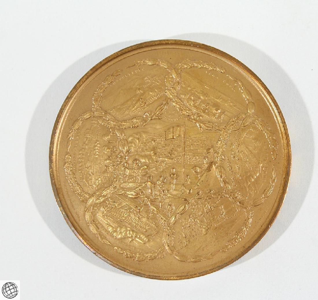 3Pcs Numismatics HISTORICAL MEDALLIONS Major General - 3