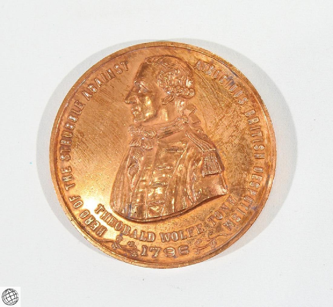 3Pcs Numismatics HISTORICAL MEDALLIONS Major General - 4