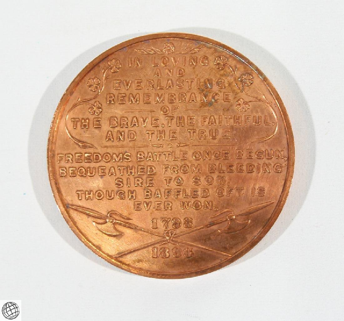 3Pcs Numismatics HISTORICAL MEDALLIONS Major General - 5