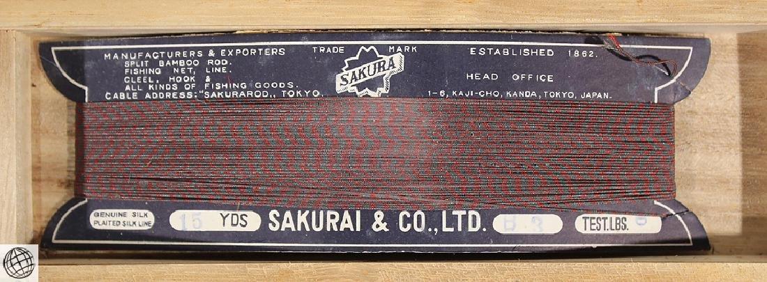 Circa 1950 ORIGINAL BOXED VINTAGE SAKURA SPLIT BAMBOO - 7