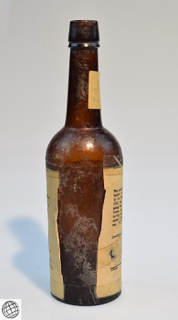 5Pcs Civil War Era 19th Century ANTIQUE GLASS FLASKS - 5