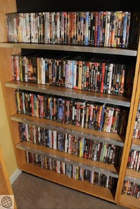 Large Quantity DVDS MOVIES AND VIDEOS Variety Of Titles