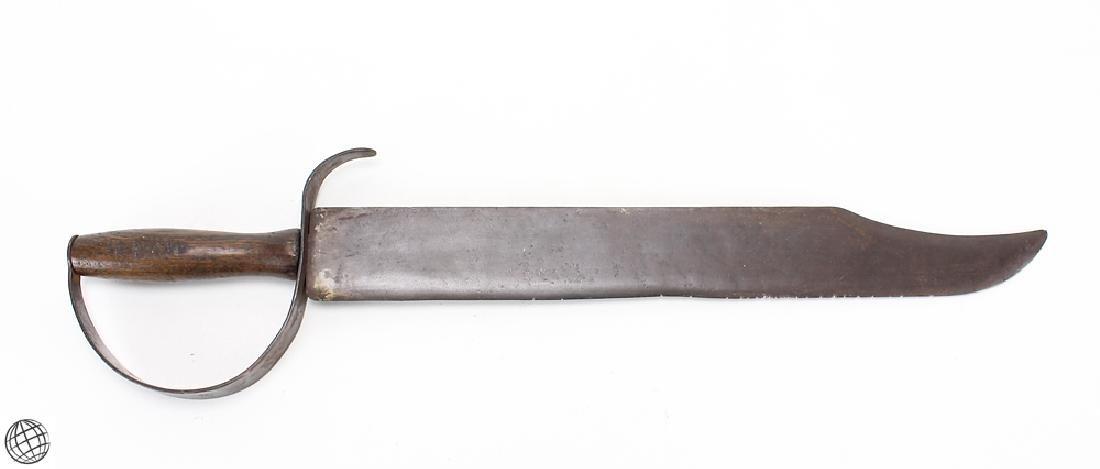 Confederate D-Guard BOWIE KNIFE Original Antique Letter