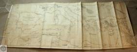 Large Antique Nautical Chart MEDITERRANEAN ADRIATIC
