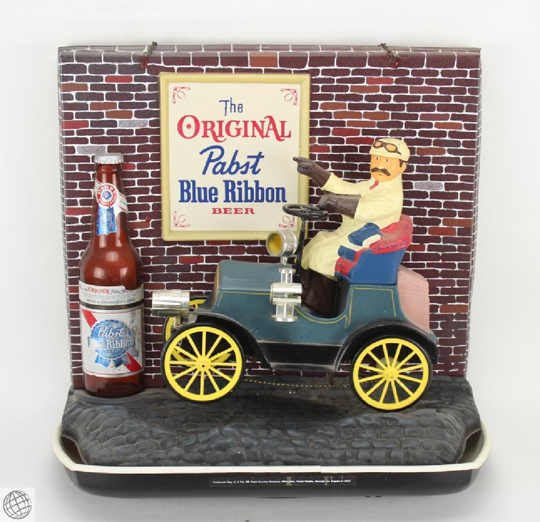 Vintage Collectible PABST BLUE RIBBON ANIMATED NOVELTY