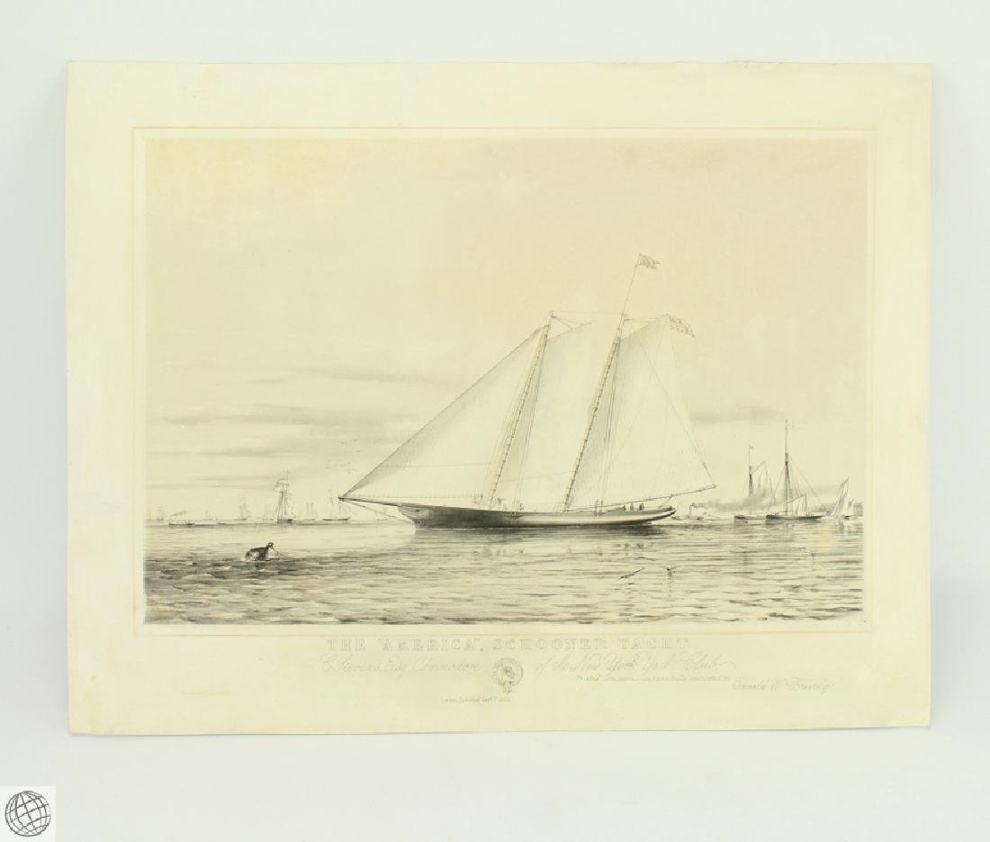 The America Schooner Yacht THOMAS GOLDSWORTH DUTTON