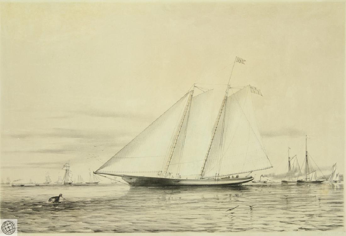 The America Schooner Yacht THOMAS GOLDSWORTH DUTTON - 2