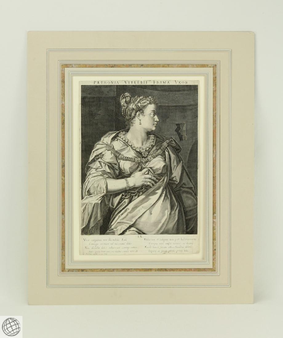 Petronia Wife of Vitellius AEGIDIUS SADELER After Von
