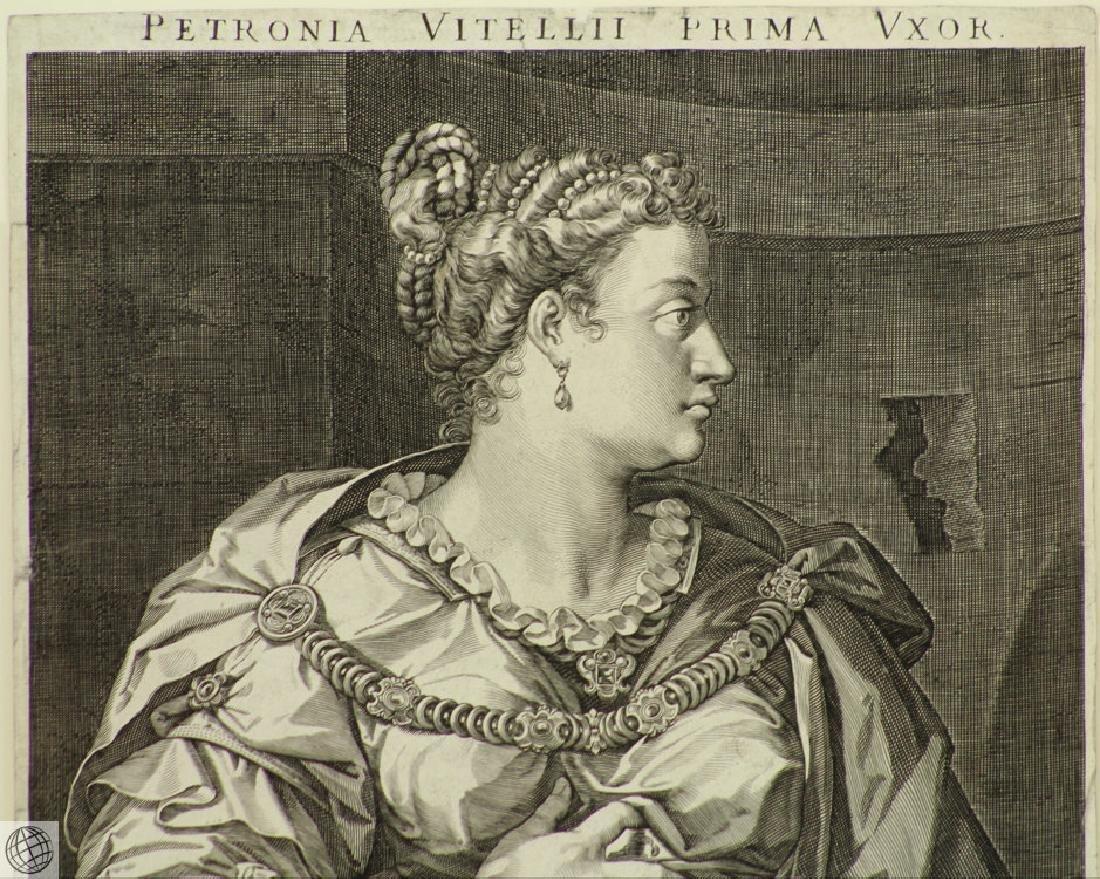 Petronia Wife of Vitellius AEGIDIUS SADELER After Von - 3
