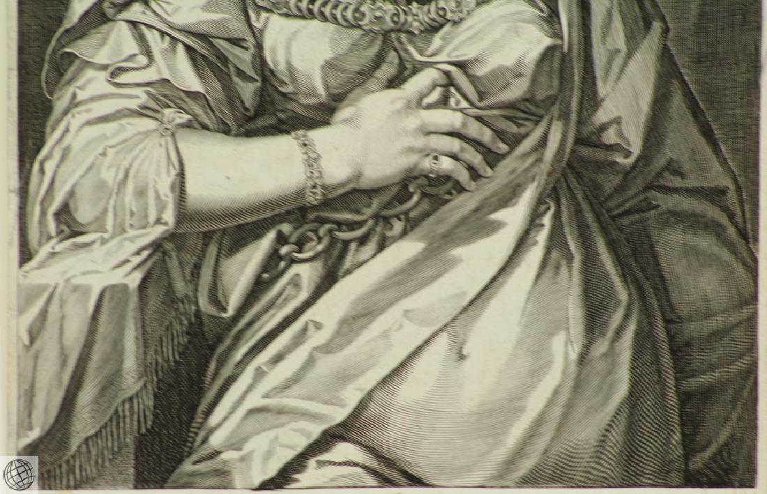 Petronia Wife of Vitellius AEGIDIUS SADELER After Von - 4