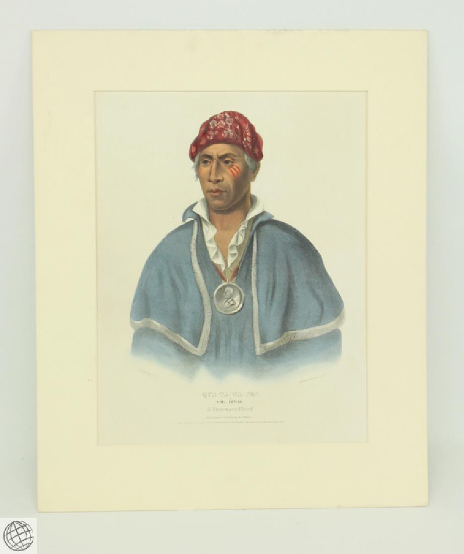 Qua-Ta-Wa-Pea or Colonel Lewis A Shawnnee Chief THOMAS